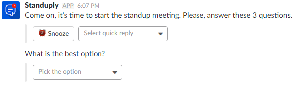how to create a survey support center standuply